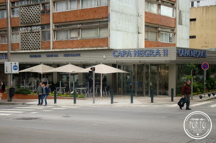 restaurante aberto na madrugada Capa Negra II