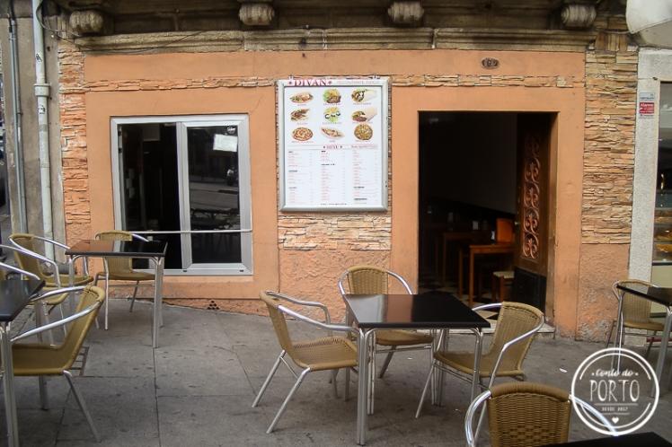 restaurante aberto na madrugada Divan
