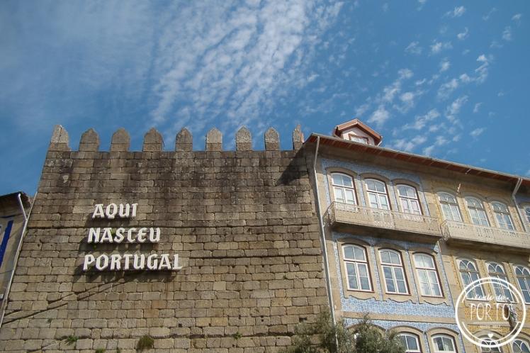 aqui nasceu portugal guimarães