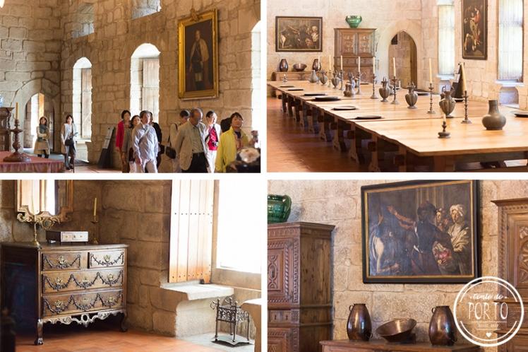 detalhes paço dos duques guimarães portugal