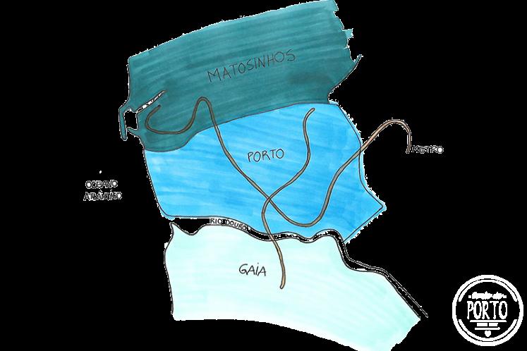 mapa concelhos