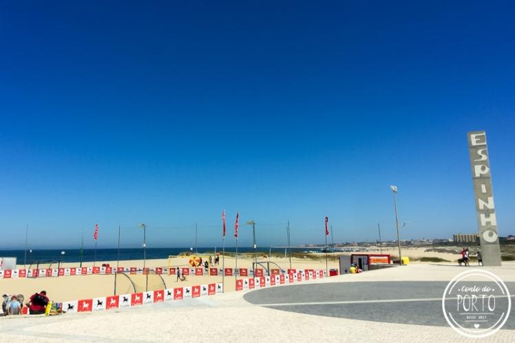 praia da baia Espinho Portugal _1