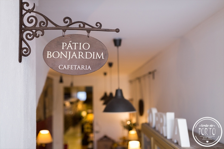 Cafeteria Pátio Bonjardim Porto Portugal