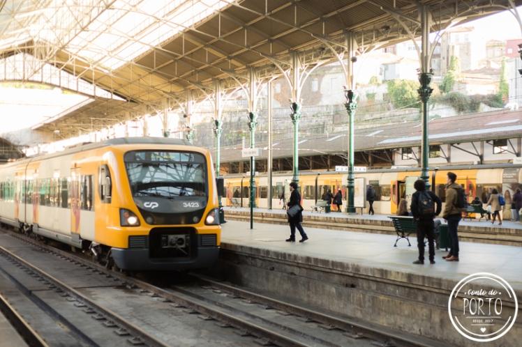Quanto custa transporte Porto