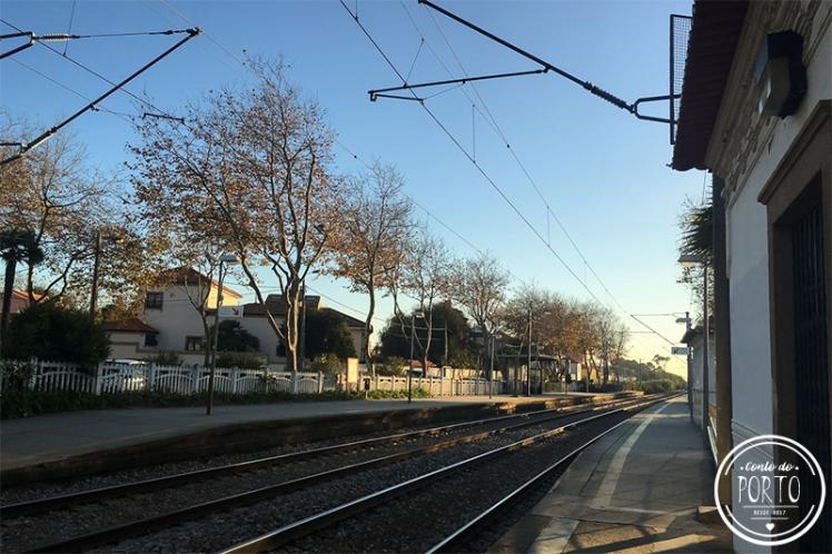 Estação de comboio Miramar