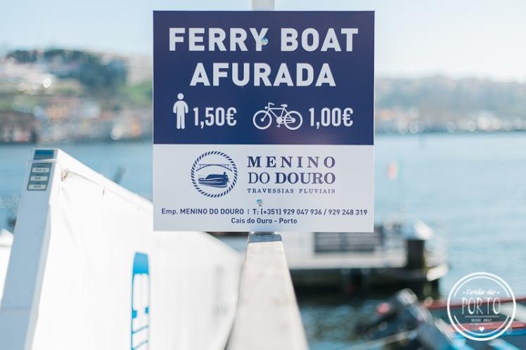barco para São Pedro da Afurada Vila Nova de Gaia Portugal 2