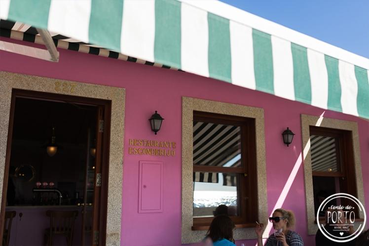 Restaurante Esconderejo Praia da Aguda Vila Nova de Gaia Portugal 1