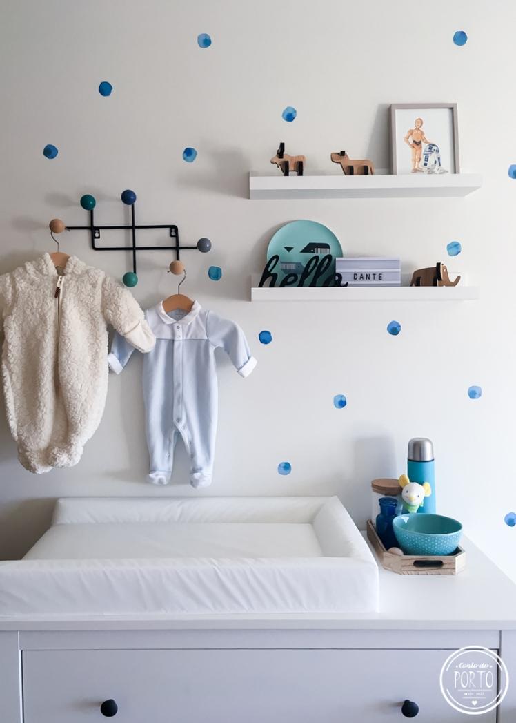 11_adesivo de bolinhas azuis aquareladas